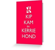 Keep Calm - Dutch Version Greeting Card