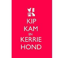 Keep Calm - Dutch Version Photographic Print