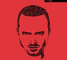 Jesse Pinkman Red by seanings