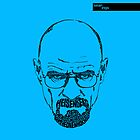 Walter White aka Heisenberg Blue by seanings