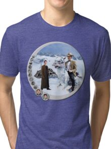 The 10.5th Day of the Doctor Jedi Tri-blend T-Shirt