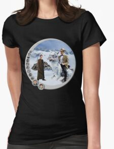 The 10.5th Day of the Doctor Jedi Womens Fitted T-Shirt