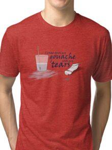 Gouache & Tears Tri-blend T-Shirt