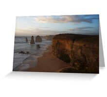 Sunset over the Twelve Apostles 2 Greeting Card