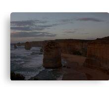 Sunset over the Twelve Apostles 3 Canvas Print