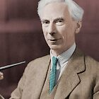 Bertrand Russell : Colorized by taudalpoi