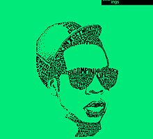 Jay Z Green by seanings