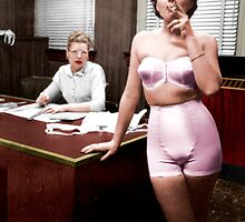 Female Lingerie Model Colorized by taudalpoi