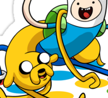 Adventure Time Twister Sticker
