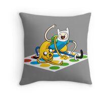 Adventure Time Twister Throw Pillow