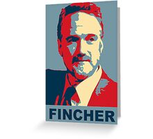 David Fincher Greeting Card