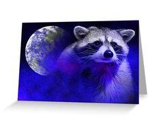 Raccoon Dream5 Greeting Card