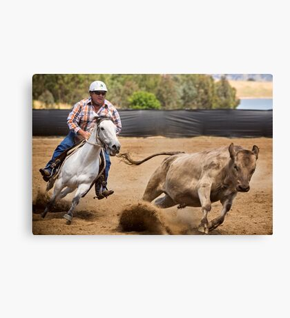 Flying Dust Canvas Print