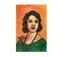Lady Sybil Art Print