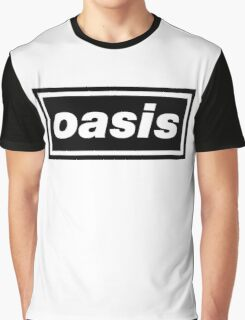 Oasis - Logo Graphic T-Shirt