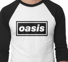 Oasis - Logo Men's Baseball ¾ T-Shirt