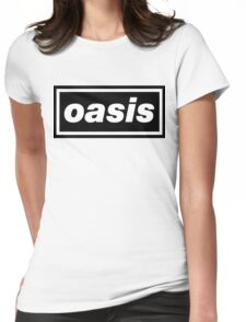 Oasis - Logo Womens Fitted T-Shirt