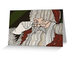 Santa -Trav Nash Greeting Card