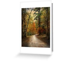 Autumn Forest 4 Greeting Card