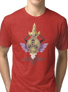 Cutout Aegislash Tri-blend T-Shirt