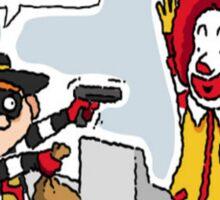 McDonalds Sticker