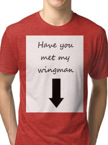 Wingman Tri-blend T-Shirt