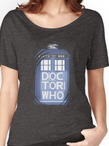 wibbly wobbly timey wimey TARDIS Women's Relaxed Fit T-Shirt