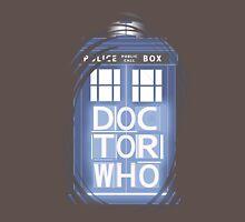 wibbly wobbly timey wimey TARDIS Unisex T-Shirt
