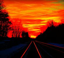 Night Fire Series - November 13th For Darrel by Sheryl Kabasinski