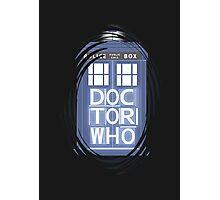wibbly wobbly timey wimey TARDIS Photographic Print