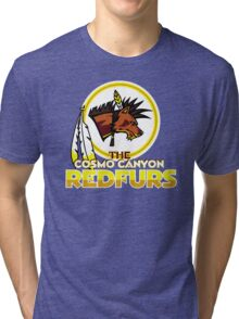 The Cosmo Canyon Redfurs - Redskins  Tri-blend T-Shirt