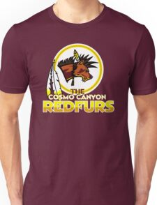 The Cosmo Canyon Redfurs - Redskins  Unisex T-Shirt