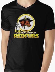 The Cosmo Canyon Redfurs - Redskins  Mens V-Neck T-Shirt