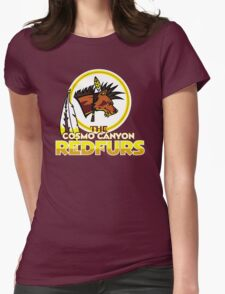 The Cosmo Canyon Redfurs - Redskins  Womens Fitted T-Shirt