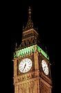 Big Ben Close Up by Jasna