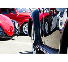 VW Beetles and Reflections Bugorama 69 Photographic Print