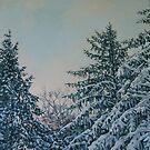 WINTER PINES by Catherine Kuzma