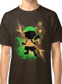 Super Smash Bros. Green Ness Silhouette Classic T-Shirt