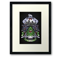 Who You Gonna Call? - Print Framed Print