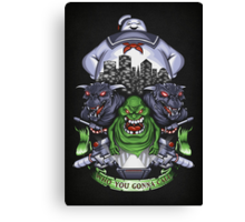 Who You Gonna Call? - Print Canvas Print