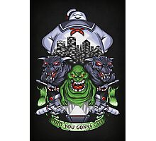 Who You Gonna Call? - Print Photographic Print