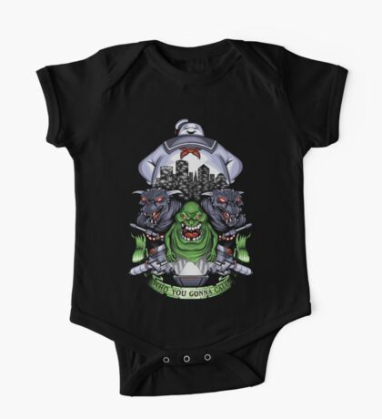 Who You Gonna Call? One Piece - Short Sleeve