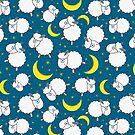 Cute Cartoon Sheeps by kotopes