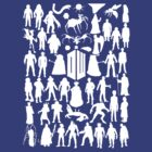 Doctor who 50 enemies by MrSaxon