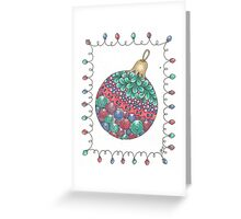 Tangled Tree Ornament Greeting Card