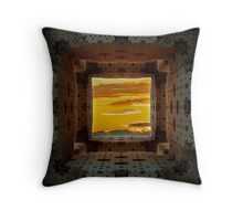 Other Side Of The Hole Throw Pillow