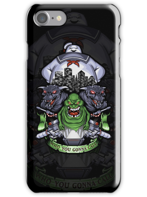 Who You Gonna Call? - Iphone Case #1 by TrulyEpic
