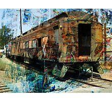 Train Cars Photographic Print