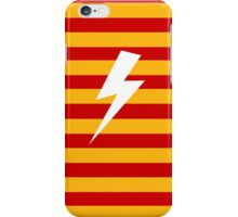 Harry Potter Minimalist Lightning- Gryffindor iPhone Case/Skin