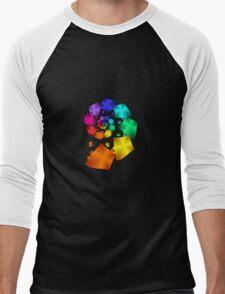 Colorful Geometric Spiral T-Shirt